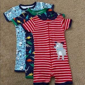 Carter's boys one piece pajama - 4T